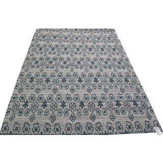 New Loom Jacquard Indian Rug - 5' × 8'