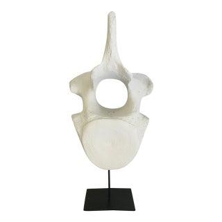 Noir Faux Whale Bone Sculpture
