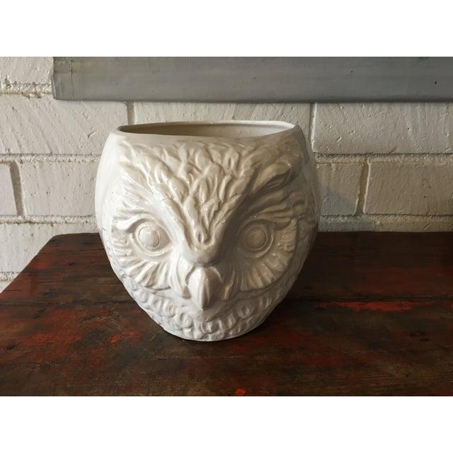 White Owl California Pottery Planter - Image 3 of 9