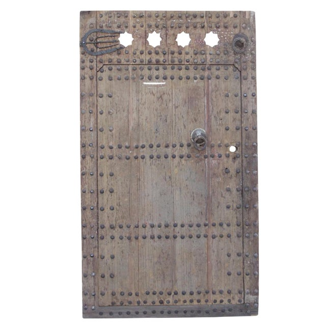 Antique Moroccan Fortress Door - Image 1 of 7