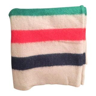 Vintage 3 Point Wool Camp Blanket