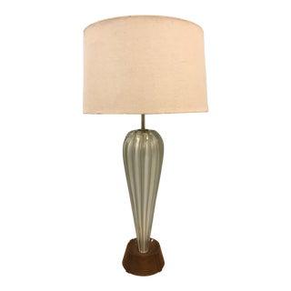 Large Italian Murano Glass Lamp