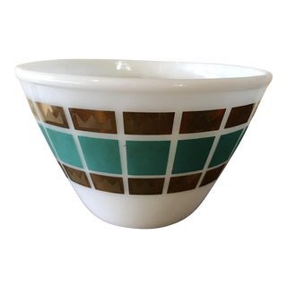 1950's Fred Press Fire King Bowl