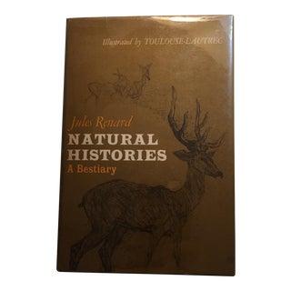Natural Histories A Bestiary Jules Renard 1966