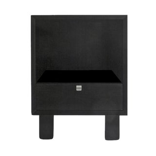 Black Nelson Nightstand
