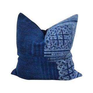 Vintage Hmong Textile Accent Pillow