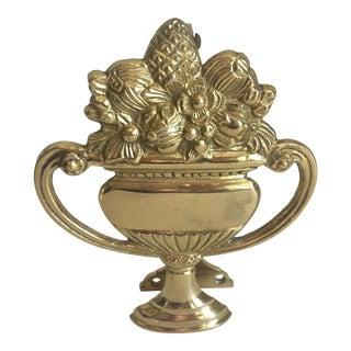 Brass Urn Door Knocker
