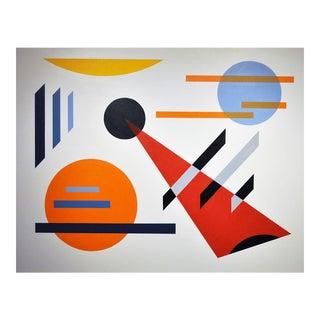 """""""Composition III"""" Acrylic Painting"""