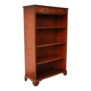 Vintage Imperial Mahogany Bookcase
