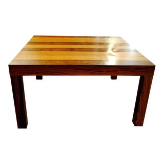 Danish Rosewood Parsons Style Coffee Table
