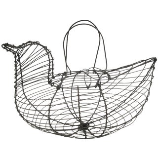 Wire Hen Egg Kitchen Basket