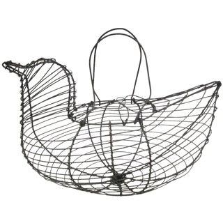 Wire Chicken Egg Kitchen Basket