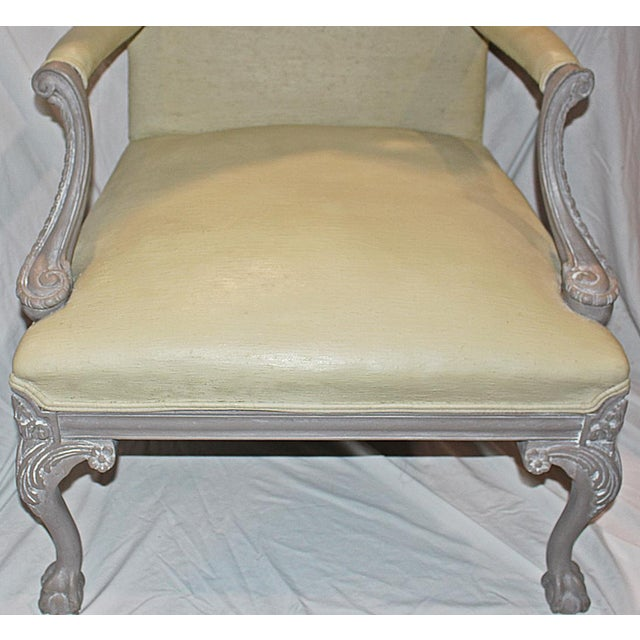 Carved Chippendale-Style Armchair - Image 5 of 8
