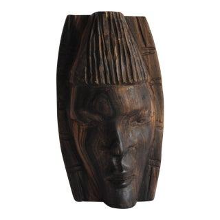 Handcarved African Mask