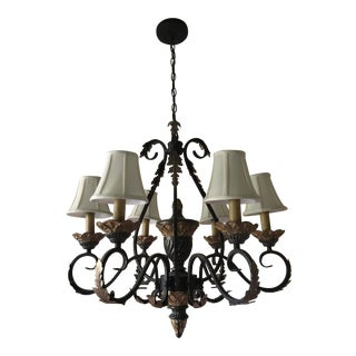 Tuscan Traditional Dining Room Chandelier