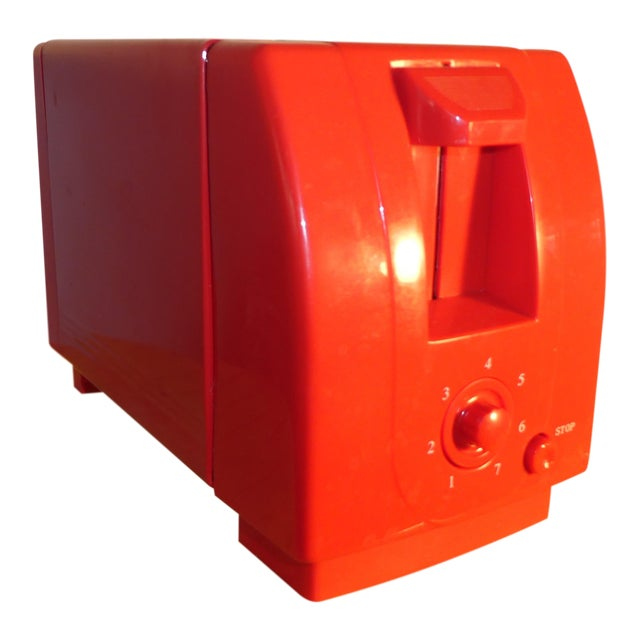 Mid-Century Red Toaster - Image 1 of 3