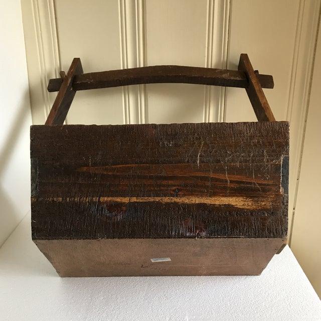 Primitive Rustic Wood Box - Image 8 of 11