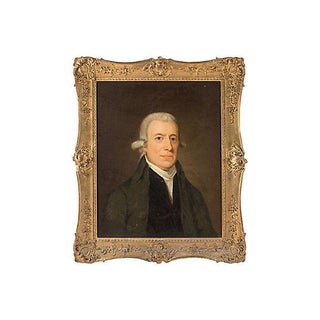 Portrait Painting of Colonial Governor Josiah Bartlett, Circa 1790