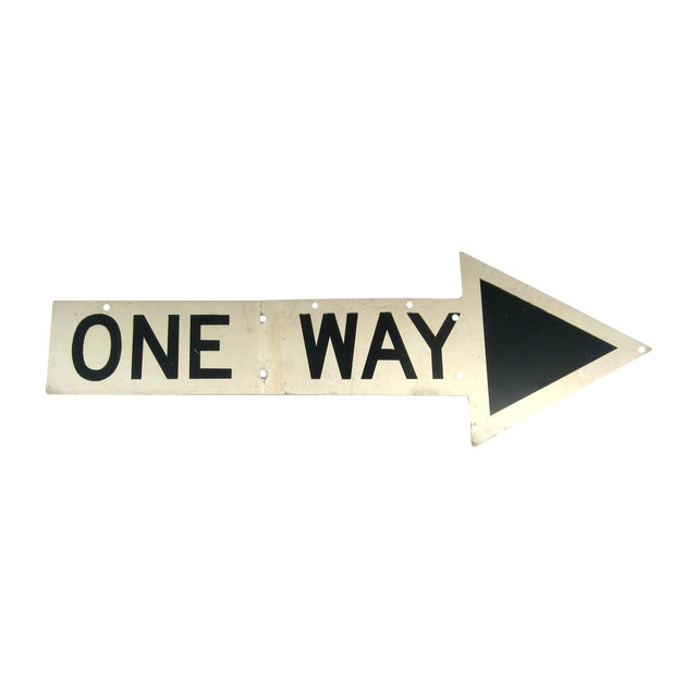 New York City One Way Sign - Image 1 of 3