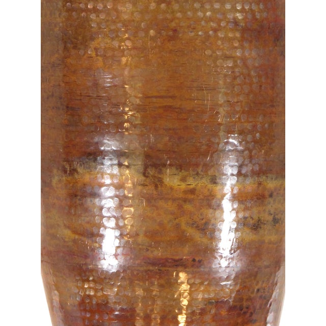 Image of Pasargad's Hand-Forged Copper Vase