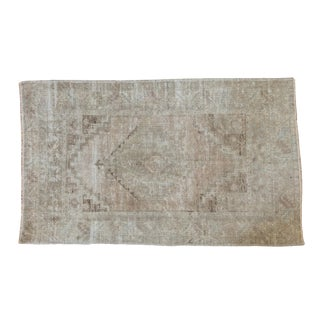 "Distressed Oushak Rug - 3'10"" X 6'3"""