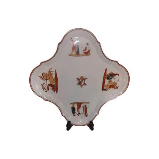 French Porcelain Tray