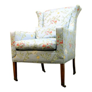 Lauren Wing Chair by Scalamandre