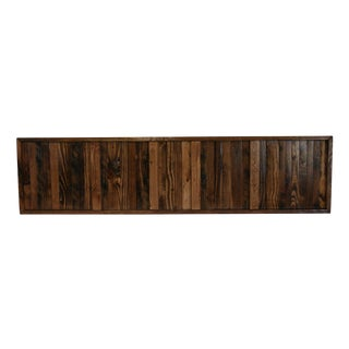 Lines of Wood Wall Art