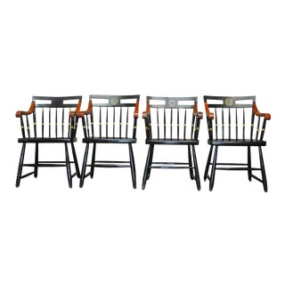 Nichols & Stone Harvard Scholar's Chairs - Set of 4