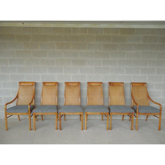 Pecan Wood Furniture Dining Room: Drexel Heritage Danish Modern Style Pecan Wood Dining