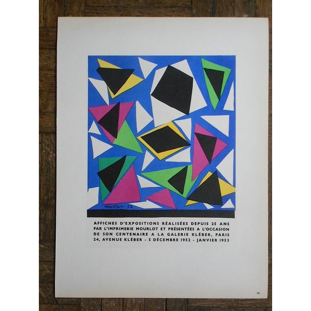 1959 Matisse Mid 20th C Modern Lithograph - Image 2 of 3