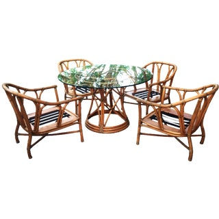 5-Piece Ficks Reed Rattan Dining Set