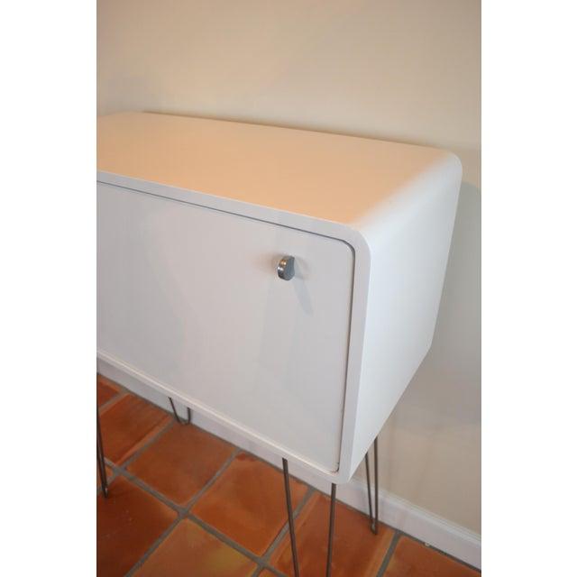 Image of Mid-Century Atomic Bar Cabinet or Desk