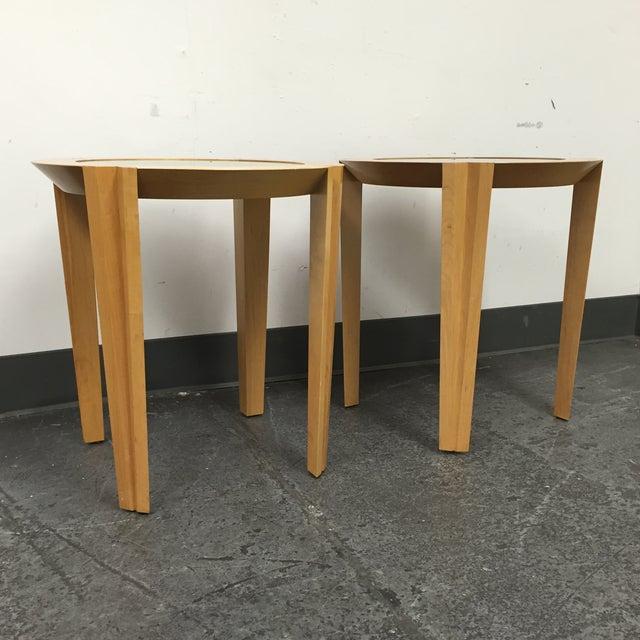 Image of Brayton International End Tables - Pair