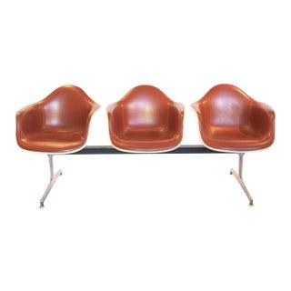 Eames Fiberglass Tandem Bench