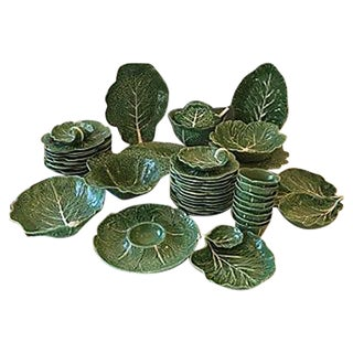 Green Cabbageware Set - 45 Pieces