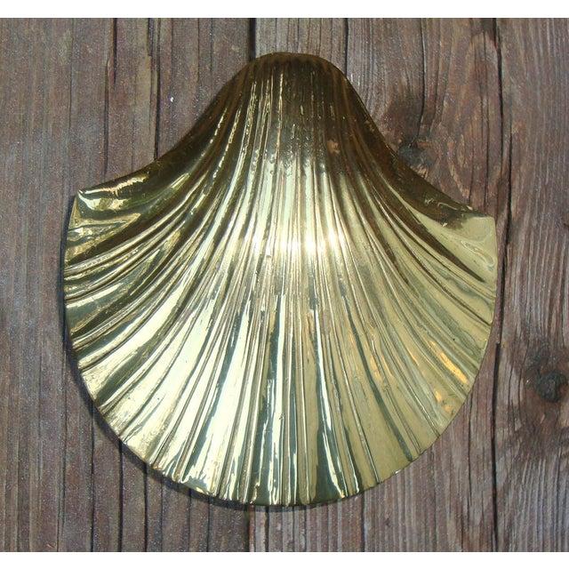 Art Deco Brass Seashell Candy Box - Image 6 of 7