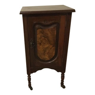 Antique Walnut Half Commode