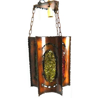 Vintage J.C. Accolay French Lantern