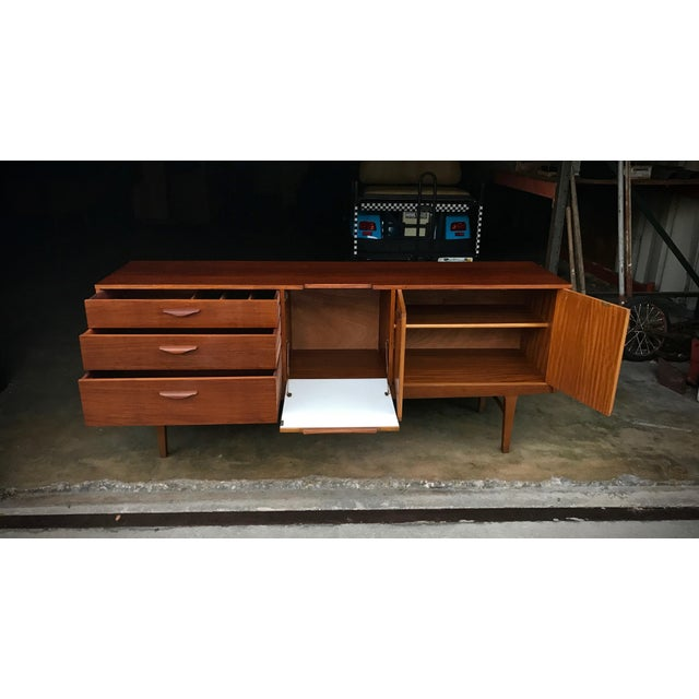 Image of Nathan Mid-Century Modern Solid Teak Sideboard