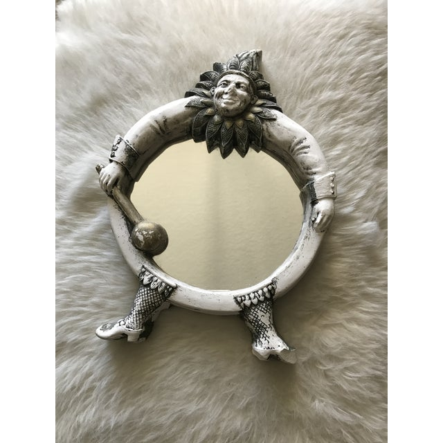 Image of Vintage French Jester Mirror