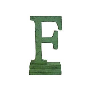 Vintage Letter F