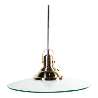 Quoizel Flying Saucer Brass Pendant