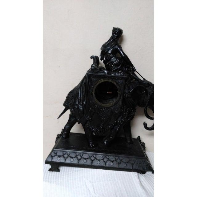Egyptian Revival Mantel Clock - Image 10 of 11