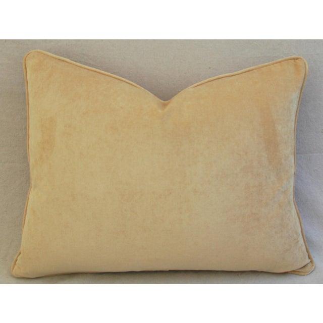 Boho-Chic Kantha Textile & Velvet Down Pillow - Image 4 of 5