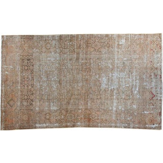 "Persian Distressed Malayer Rug - 3'8"" x 6'4"""