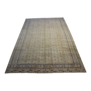 Turkish Fett Rug- 9′ × 12′8″