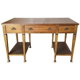 Mid Century Two Tier Desk Table