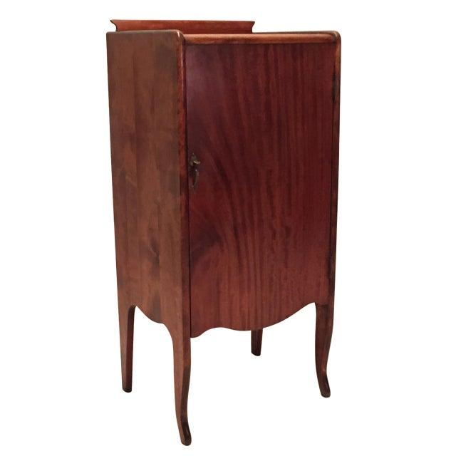 Antique Mahogany Sheet Music Cabinet - Image 1 of 7