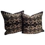 Image of Vintage Blanket Pillows - Pair